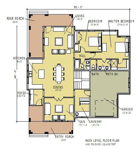 Cottage Home Plans, cottage house plans, floor plans