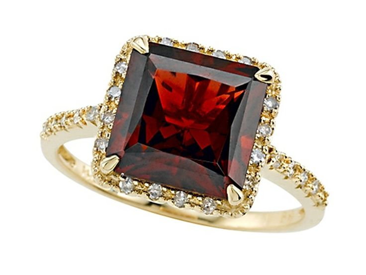 Genuine Garnet Ring by Effy Collection 14kt Gold >>> Continue to the product at the image link. (This is an Amazon Affiliate link and I receive a commission for the sales)