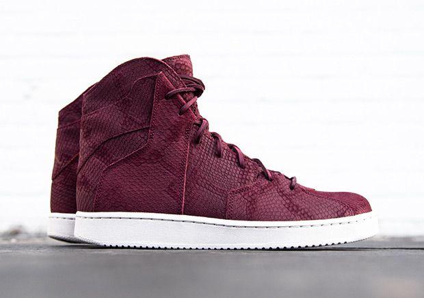#sneakers #news  Maroon Snakeskin Hits Russell Westbrook's Jordan Shoe