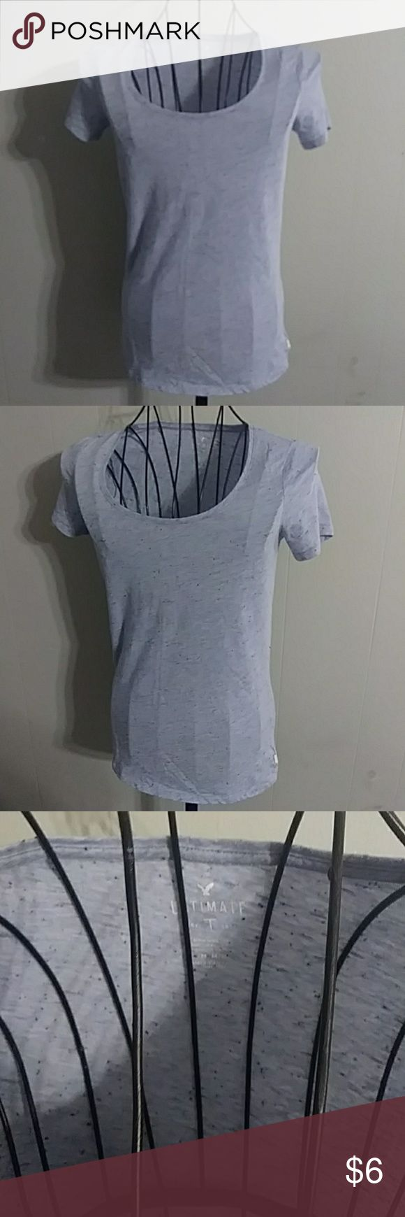American Eagle t shirt Blue AE t shirt American Eagle Outfitters Tops Tees - Short Sleeve #americaneagleoutfitters