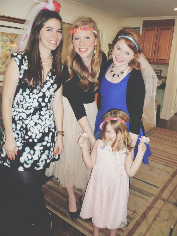 Fun bridal shower activity - #DIY your own veil with tulle, ribbon, flowers, pom poms, anything that JoAnns has to offer!