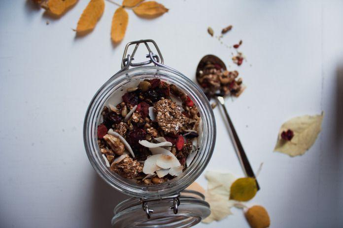 autumn granola | piecefully