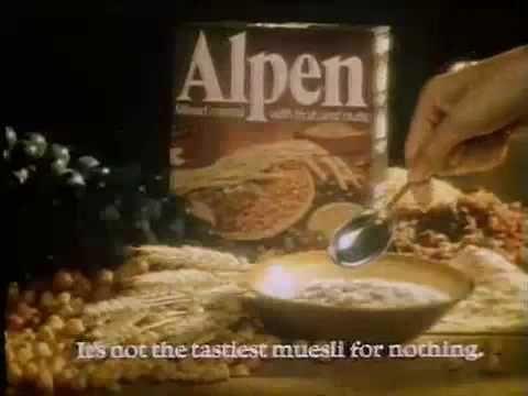 alpen cereal  | Alpen Muesli Breakfast Cereal (Classic UK ad 1980's)