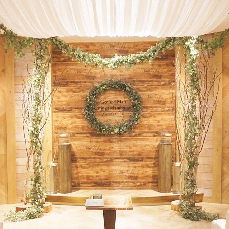*loving and ambitions* 挙式会場のデザインはこちら。 寒い北海道や大山の冬があけて 白樺の枝とグリーンと... といった感じかな キャンドルとウッドで 暖かく温もりある雰囲気に。 #TRUNKBYSHOTOGALLERY #結婚式場 #結婚式準備 #挙式会場 #挙式 #チャペル #人前式 #リース #ナチュラルウェディング #リースブーケ #ガーデンウェディング #キャンドル #木のぬくもり #結婚証明書 #アーチ #プレ花嫁 #卒花 #花嫁diy #コンセプトウェディング #ウェディングフォト #フォトウェディング #フォトジェニック #フォトブース #北海道 #2017春婚 #2017夏婚 #前撮り #後撮り #祭壇 #オリジナルウェディング