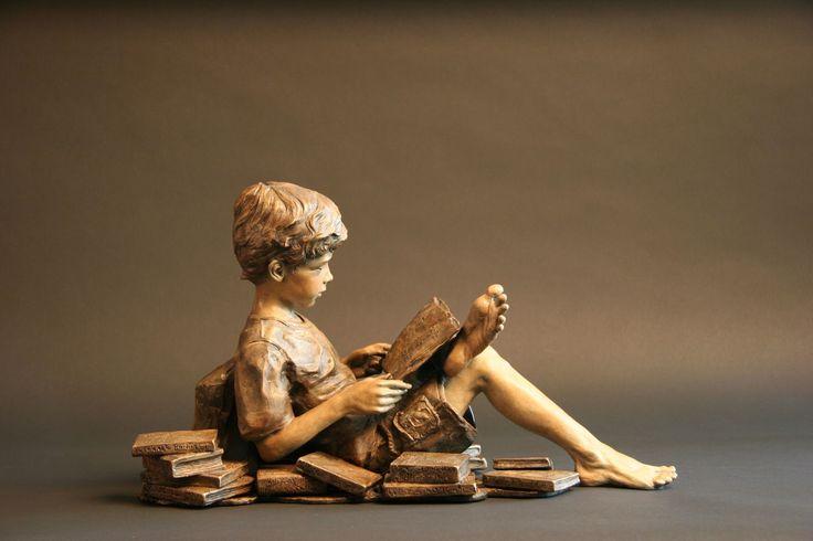 Angela Mia De la Vega | escultor figurativo | Tutt'Art @ | Pittura * Scultura * * Poesia Musica |