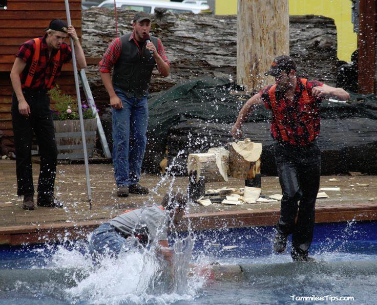 Great Alaskan Lumberjack Show in Ketchikan