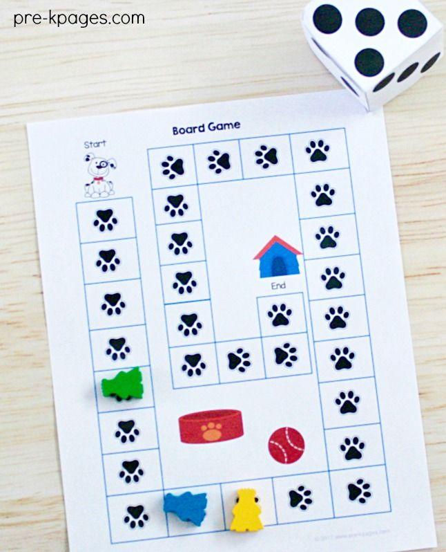 Pet Theme Literacy Activities – Pet Game