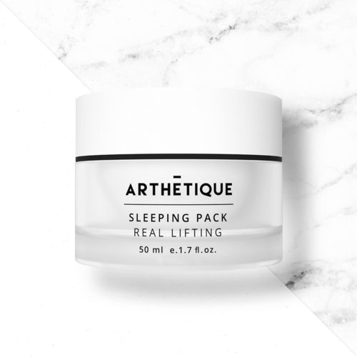 ARTHETIQUE Sleeping Pack Real Lifting provides the skin with vitality and youth and maintains moisture and elasticity effects during sleep. #sleepingpackreallifting #sleepingpack #antiwrinkle #whitening #arthetique #cosway #premium #skincare #cosmetics #homeesthetic #makeup #beauty #seoul #korea