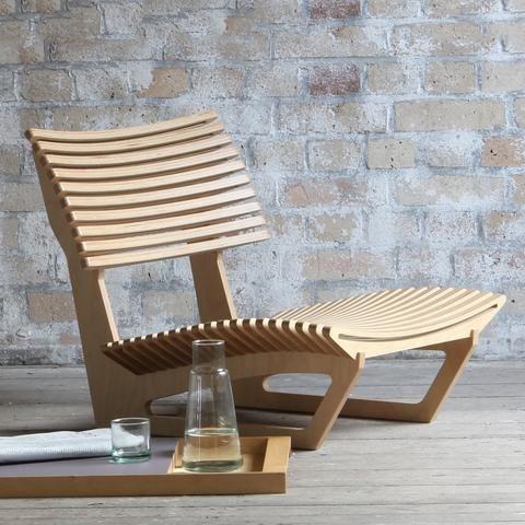 Sprung Ply Floor Chair
