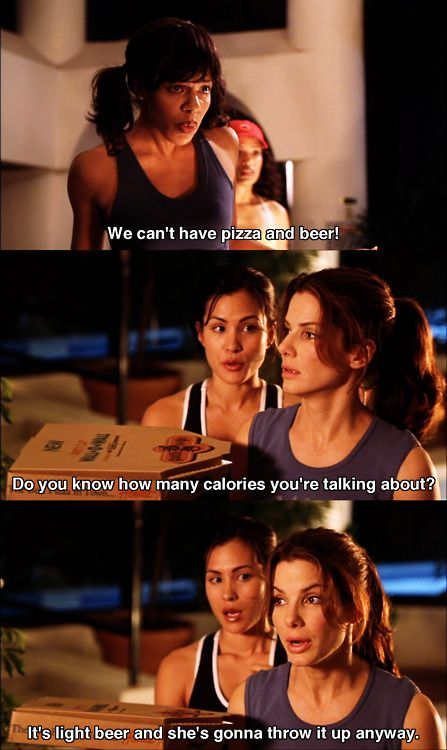 We can't have pizza and beer