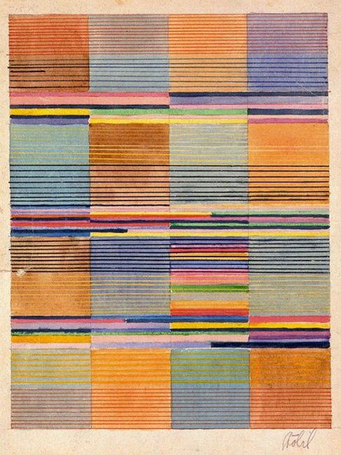 Gunta Stolzl Bauhaus textiles. Such great mixes and thicknesses of colour. http://obus.com.au/