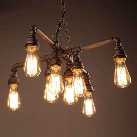 Home In 2020 Edison Light Chandelier Edison Lighting