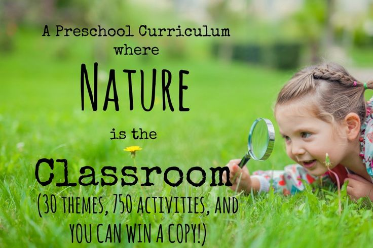 Finally a nature based home preschool curriculum that features Montessori, Waldorf and Reggio ideas. Enter to WIN one!