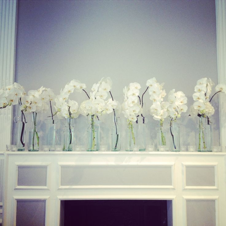 More incredibly chic flowers by McQueens florist at Claire and Guy's wedding.