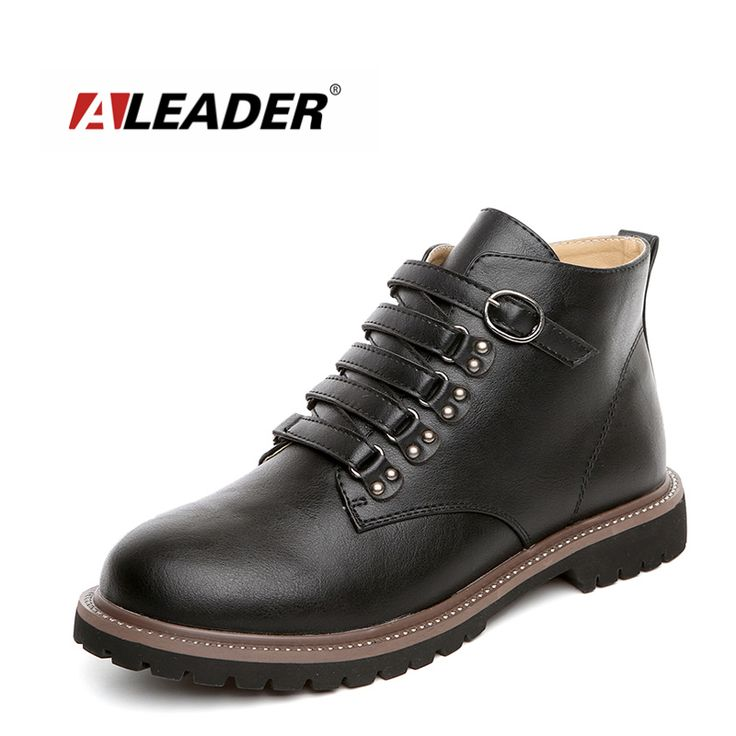 Aleader 2016 Autumn Fashion Ankle Boots Womens Casual Short Boots Cowgirl Leather Womens Flat Booties Dress Women Shoes Botas