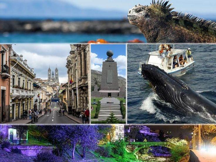 Destino turístico Ecuador: ARCHIPIÉLAGO DE GALÁPAGOS, CUENCA, GUAYAQUIL, BAÑOS DE AGUASANTA, MONTAÑITA,