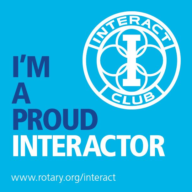 august is membership month at rotary share this graphic Rotary Interact Emblem rotary interact club logo vector