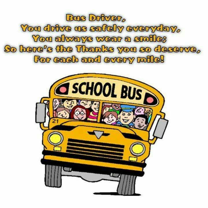 Bus driver thank you. | teacher gifts | Pinterest | Buses ...