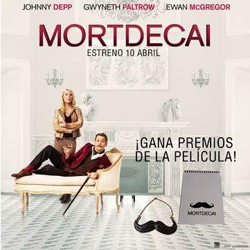 """CONCURSO: 'Mortdecai'  Gana con CINEMANÍA lotes de regalos de la nueva película protagonizada por Johnny Depp.  PorCinemanía- 07 de abril de 2015  El próximo10de abrilllega a los cines españolesMortdecai,la nuevapelícula deDavid Koeppque cuenta conJohnny Depp, Gwyneth Paltrow,Ewan McGregor, Paul BettanyyOlivia Munncomo protagonistas.  Esta es la sinopsis oficial de la película: """"Mientras sortea a unos rusos cabreados, al Mi5 británico, a su esposa de piernas imposibles y a un…"""
