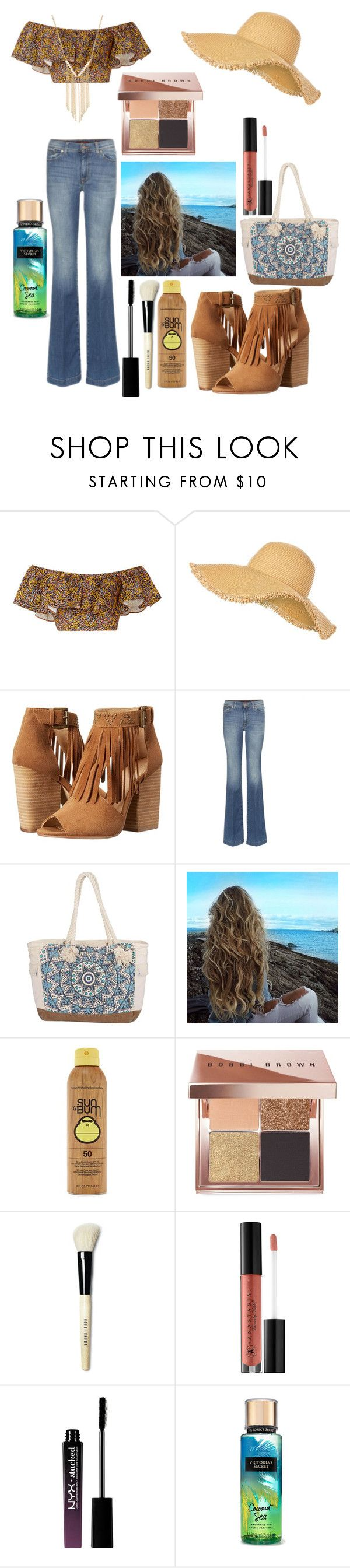 """Spain"" by cambam435 on Polyvore featuring Philosophy di Lorenzo Serafini, New Look, Chinese Laundry, Billabong, Forever 21, Bobbi Brown Cosmetics, Anastasia Beverly Hills, NYX and Gemelli"