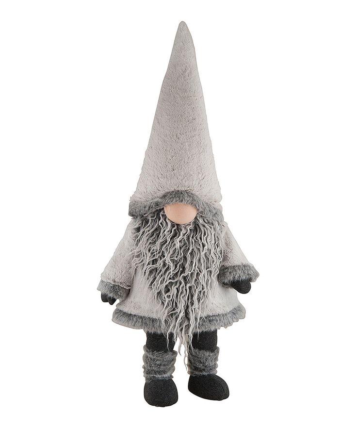 Look at this #zulilyfind! Bobbing Winter Gnome Figurine by C & F #zulilyfinds