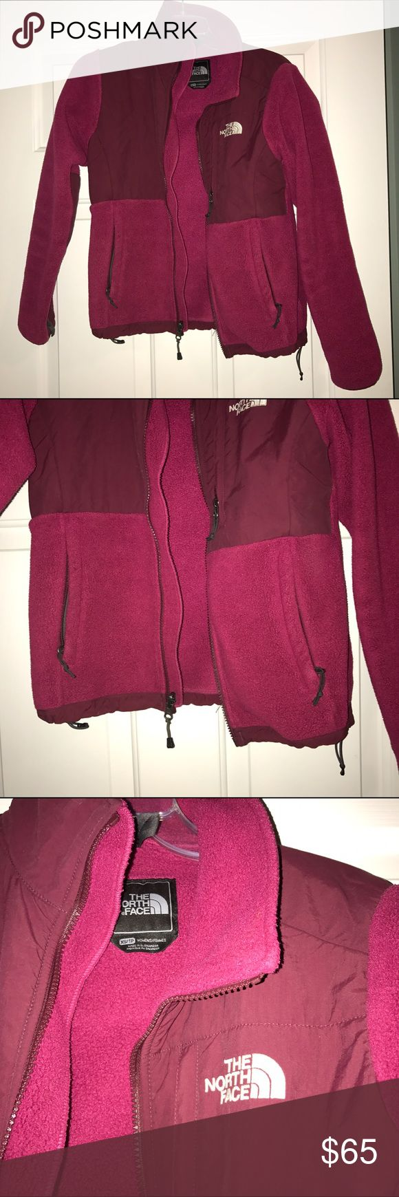 north face fleece women's north face pink zip-up fleece jacket- LOOKS BRAND NEW - size xs - lots of pockets & warm for the winter!! The North Face Jackets & Coats