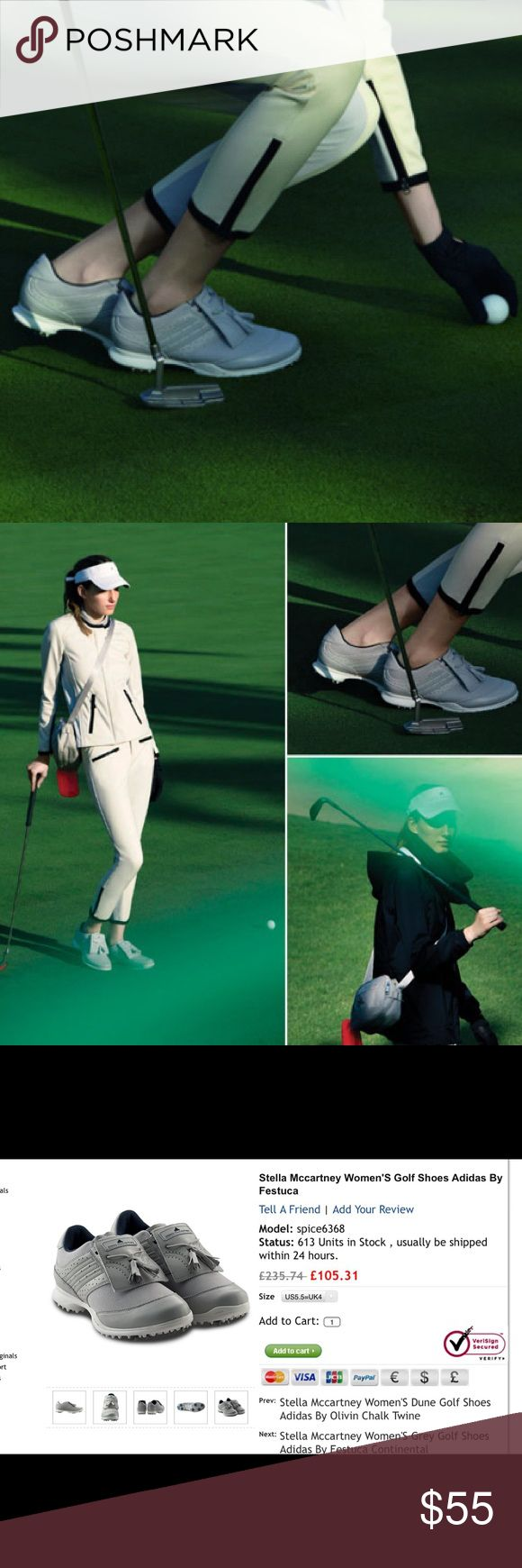Stella MacCartney Women's Golf Adidas shoes By festuca 🌻In great condition Adidas by Stella McCartney Shoes Athletic Shoes