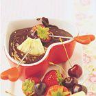 Chocoladefondue - recept - okoko recepten