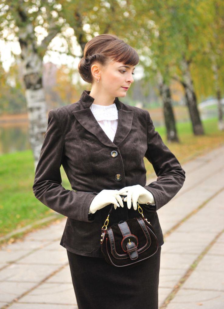 Быть леди: классический женский костюм в стиле 40-х годов. Татьяна Безгодова - bonnieblog.AmazEm.ru