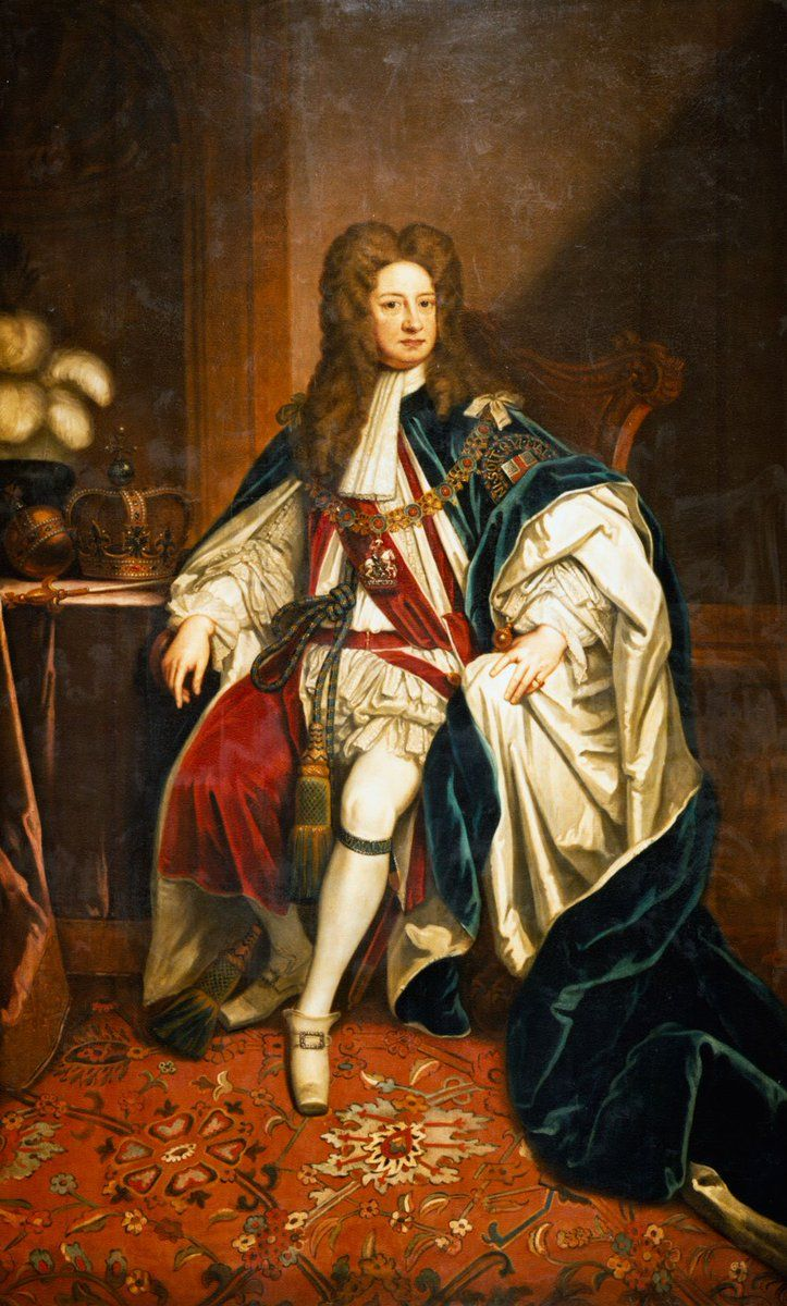 George I was born today in 1660. He reigned from 1714-1727 and was the first of the Hanoverian kings
