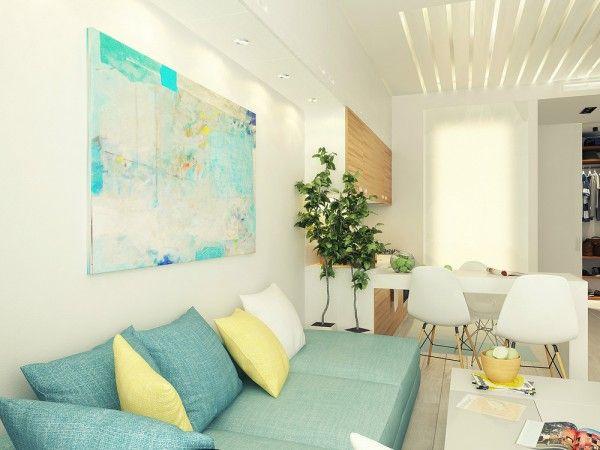 인테리어 견적 시공 사례 작은 아파트 꾸미기 아이디어- 해외사례