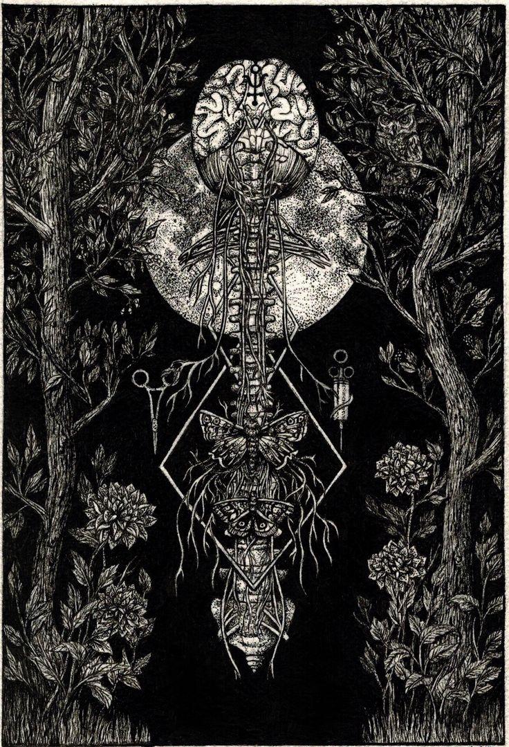Black Bile - ANNITA MASLOV ILLUSTRATIONS