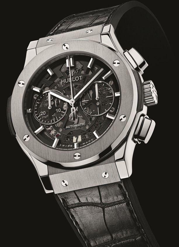 Hublot Classic Fusion Chrono Aero Titanium Watch [ HGNJShoppingMall.com ] #Fashion #shop #deals