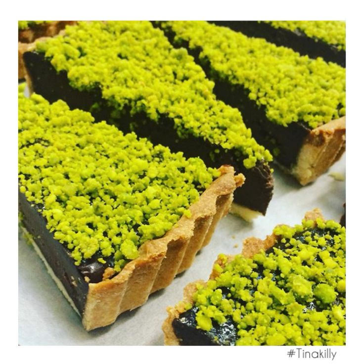 Yes please.....#Chocolate and #pistachio tart @tinakilly_country_house_hotel #Tinakilly #TinakillyKitchens #CakesOfInstagram