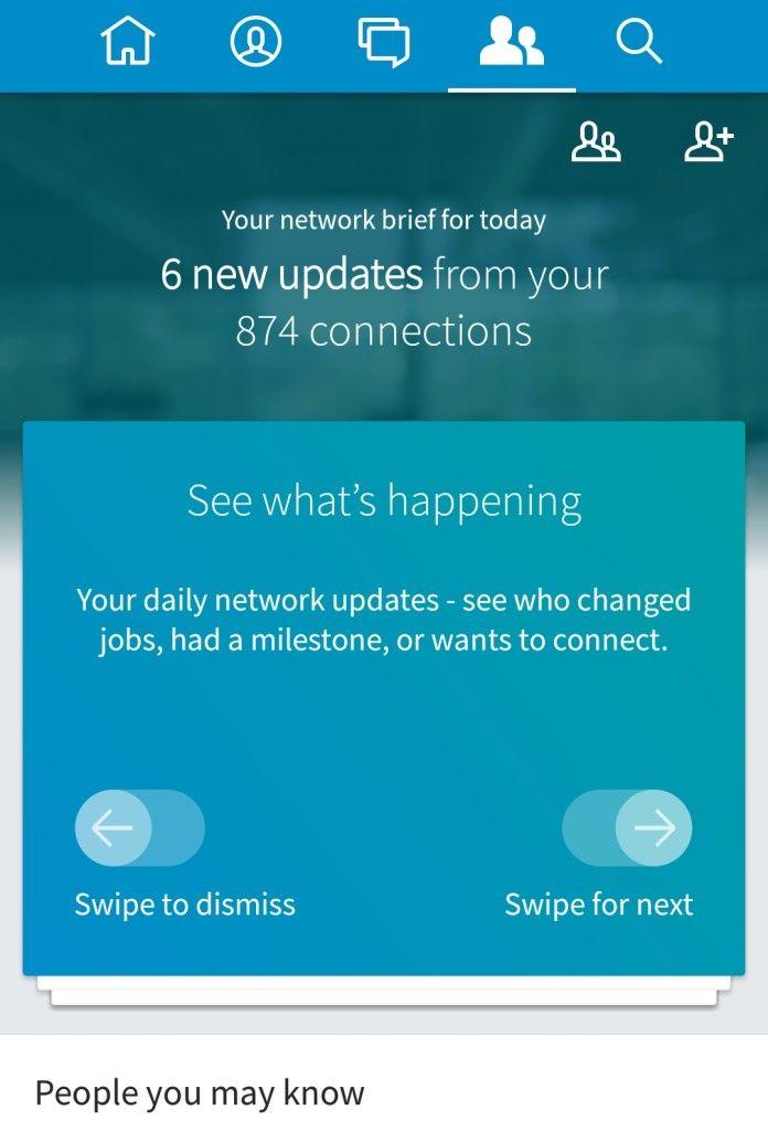 Η νέα mobile εφαρμογή του Linkedin είναι ήδη στα Smartphone ! :: George Chatzitheodosiou