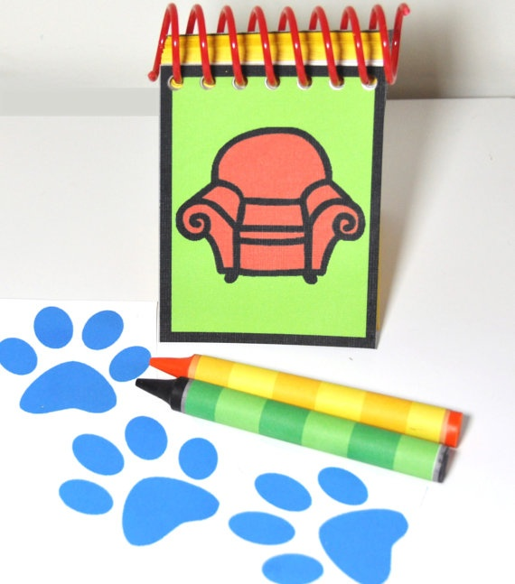 handy dandy notebook from Blues Clues | Things i miss ...