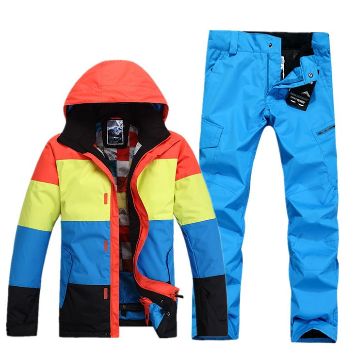 Winter Gsou brand ski jackets men snowboard skiing jacket men snow suits chaqueta esqui hombre veste ski homme ski wear wolf