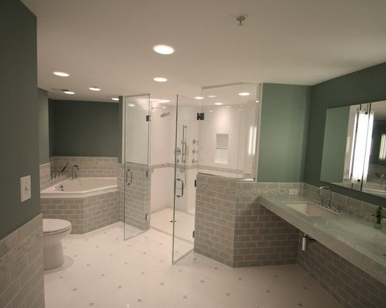 Wheelchair accessible bathrooms 2 630 wheelchair for Ada bathroom designs