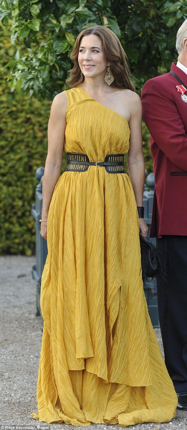 She's a trendy princess: The 42-year-old mum of four sure knows how to outshine the other royals in the fashion department
