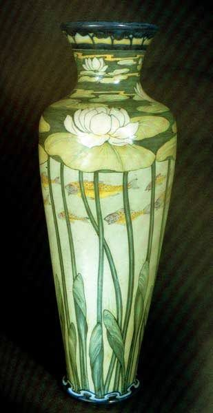 """""""The Fatal Gift of Beauty"""" by Galilleo Chini, an exponent of Liberty Stile, the Italian term for Art Nouveau. The name came from Arthur Lasenby Liberty, owner of London's Liberty Department Store where he championed the style and brought it to public attention in England."""