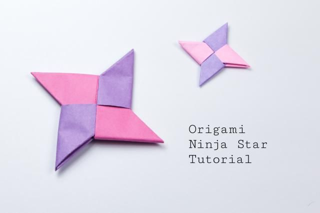 Learn how to make an origami ninja star with these easy to follow step by step i…