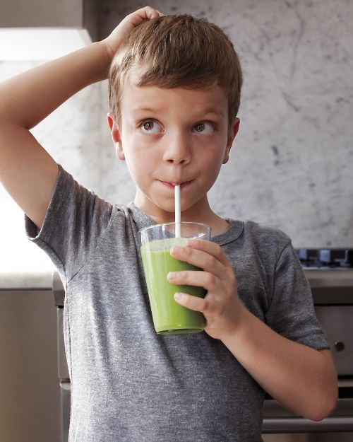 Kid-Friendly Kale, Pineapple, and Almond-Milk Smoothie - Whole Living: Almond Milk, Pineapple Juice, Almonds Milk Smoothie, Juice Cups, Almondmilk Smoothie, Drinks Recipes, Other, Smoothie Recipes, Breakfast Smoothie