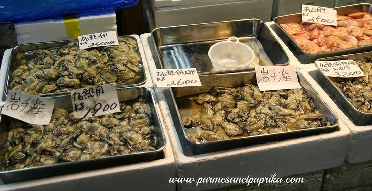 #Tokyo #FishMarket #oysters  Quelques jours au Japon: Tokyo, le Marché aux Poissons de Tsukiji (築地市場)