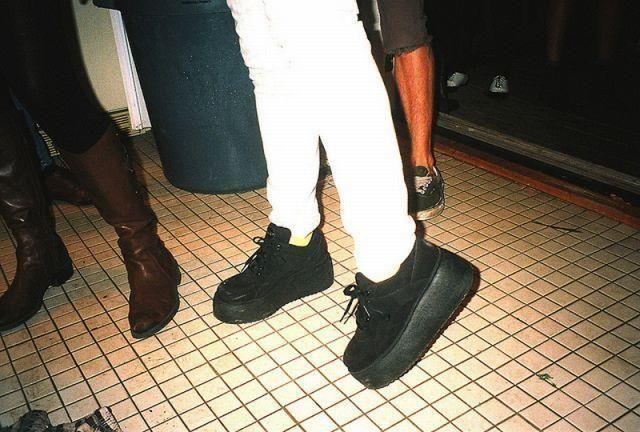 Обувь 90 годов
