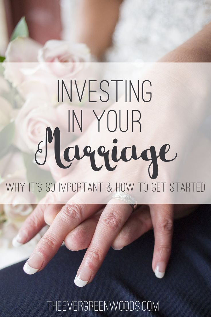 We all know what investing is, but do we know how we can invest in marriages? Here's some tips on building up your marriage and making it great!