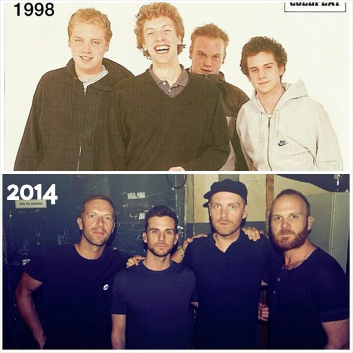 Whoah..Chris Martin.. It's true, some ppl get better w age!