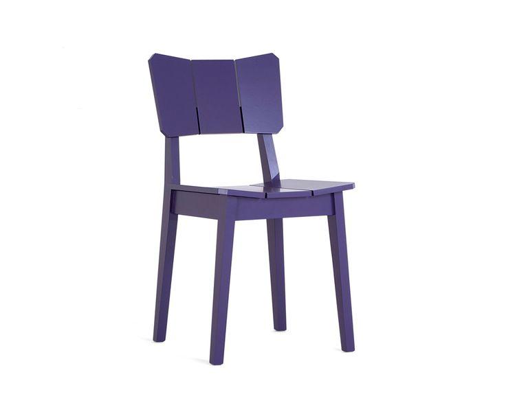 Conjunto Cadeiras Uma - Roxa - 2 peças