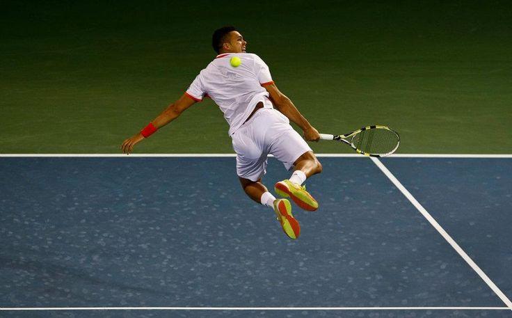 Jo-Wilfried Tsonga (France) - 2012 ATP Tennis Championship Quarterfinal, Dubai