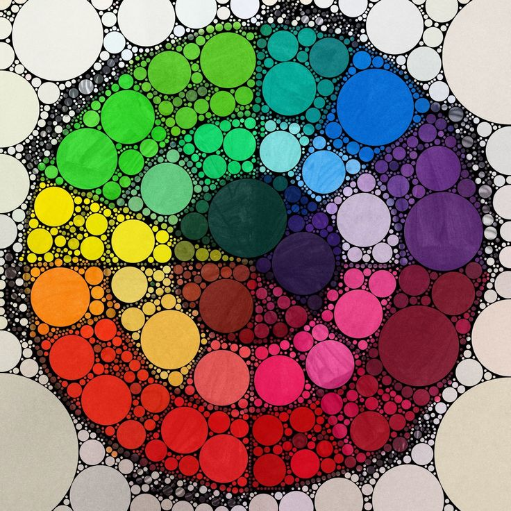 Creative Color Wheel: this would be an amazing tattoo!