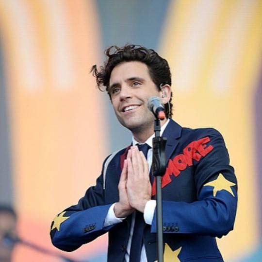 Mika performing at BST Hyde Park, London (British Summer Festival - June 21st, 2015)